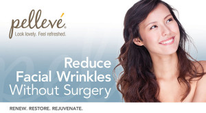pelleve skin tightening and wrinkle reduction treatment